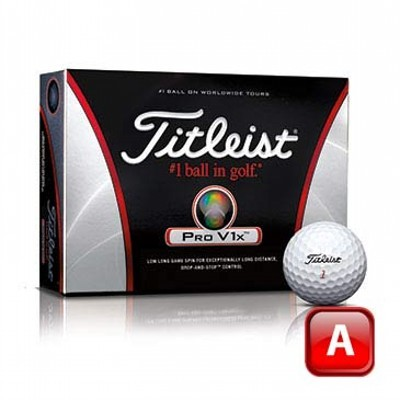 Titleist Prov1X 2011 Golf Balls - 2 Colour Print (125CGB-T11-PV1X-3)