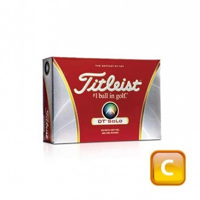 Titleist Dt Solo - 1 ball boxes - Golf Balls (125CGB-T12-DTS-1)