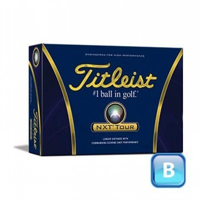 Titleist NXT Tour - 3 Ball sleeves - Golf Balls (125CGB-T12-NXTT-3)