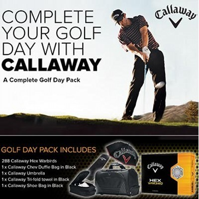 Callaway Golf Day Pack (125CSP-CHW500)