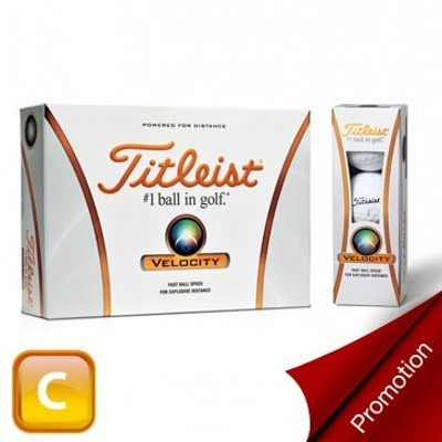 Titleist Velocity - 360 Ball Promotion - Golf Balls (125CSP-TVP360)