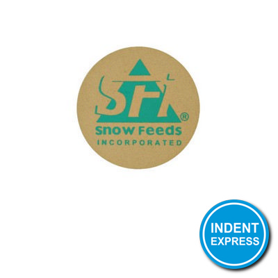 Indent Express - Coaster Circle  - (printed with 4 colour(s)) W010-SUB_GRACE