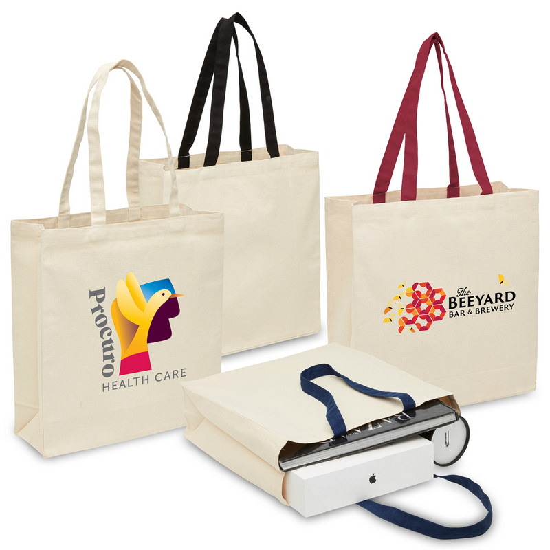 Heavy Duty Canvas Tote with Gu (2002_LEGEND)
