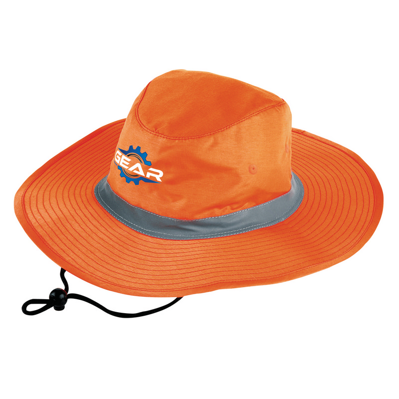Hi Vis Reflector Safety Hat (3900_LEGEND)
