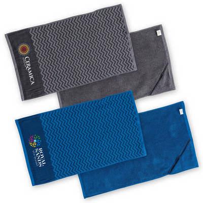 Elite Gym Towel with Pocket (M118_LEGEND)