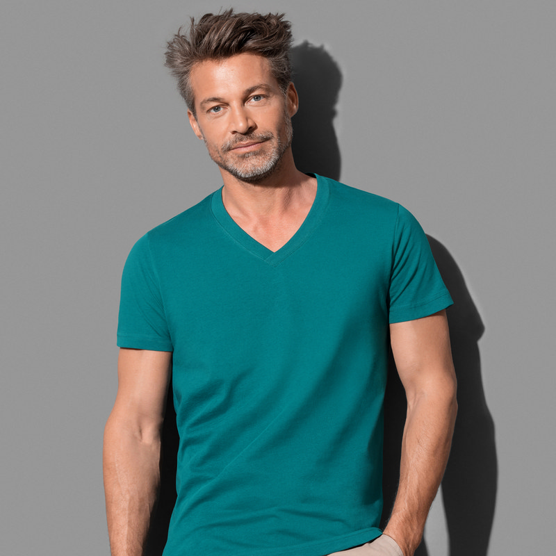 Men`s Organic V-Neck (ST9210_LEGEND)