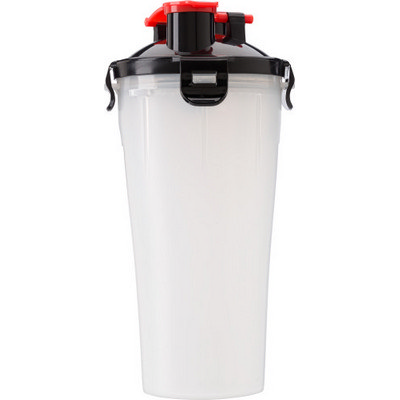 Plastic protein shaker350mlwith two compartments  (2284_EUB)