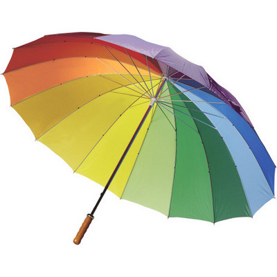 Manual polyester umbrella                           (4058_EURO)