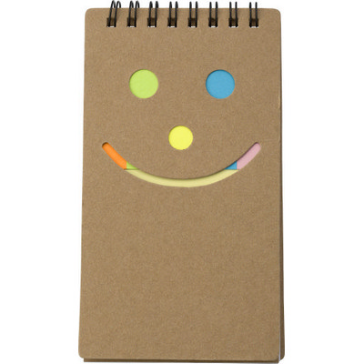 Notebook with sticky notes  (5351_EUB)