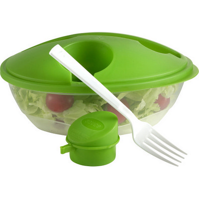 Oval shaped salad box  (6728_EUB)