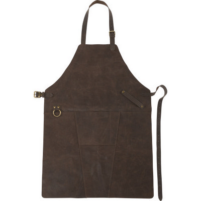 Split leather apron  (8066_EUB)
