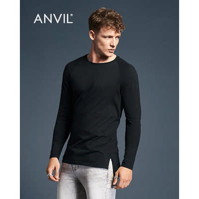 Anvil Adult Lightweight Long and Lean Long Sleeve Tee Colours (5628_COLOURS_GILD)