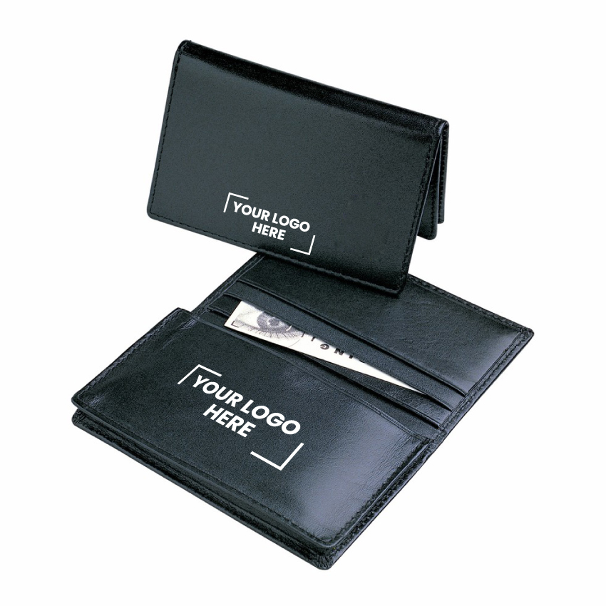 Leather Pocket Business Card Holder  (D516 _PB)