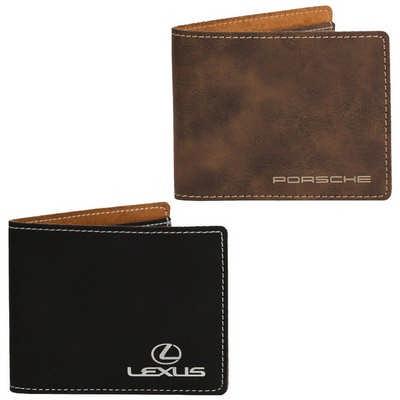AGRADE Slim Fold Wallet  (EX103_PB)