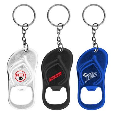 Sandal Shaped Bottle Opener Keychain (K-192_HC)