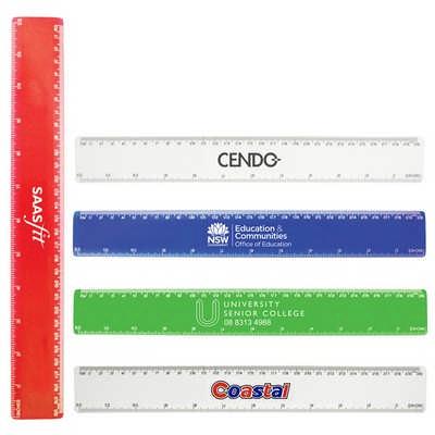 30cm Plastic Ruler  (K113_PB)