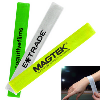 Reflective Slap Wristband  (K489_PB)