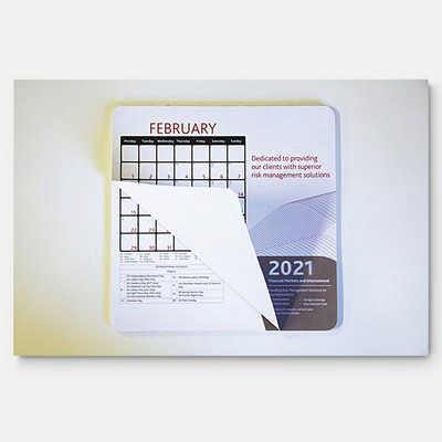 Calendar Mouse Mat  (MM118_PB)