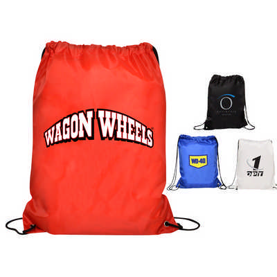 Nylon Gym Backpack  - (printed with 1 colour(s)) RB1016_PB