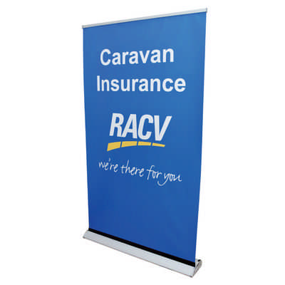 The Deluxe 1200mm Roll Up Banner  (RB191-1200 _PB)