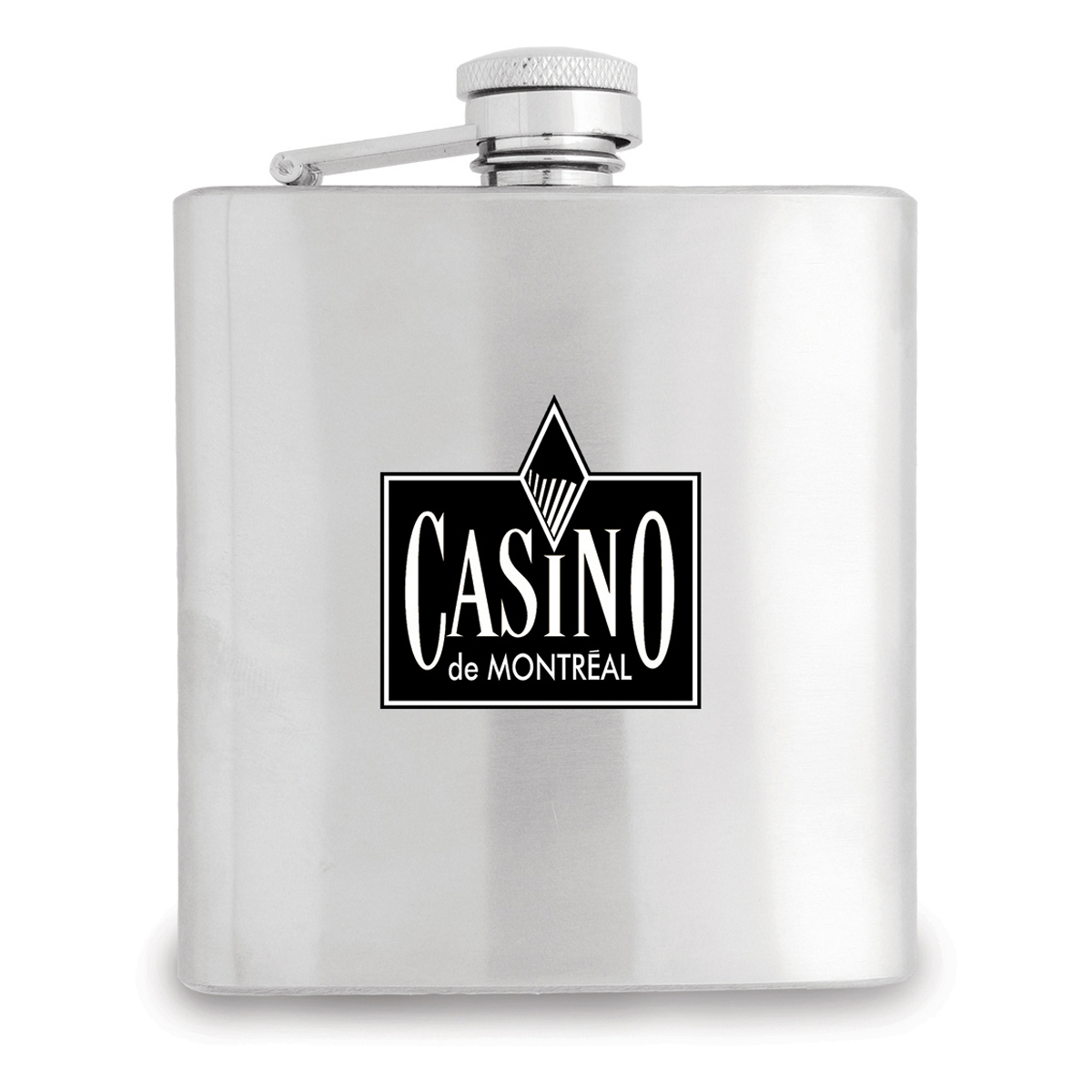 Stainless Steel Flask 180ml. (S-181_HC)