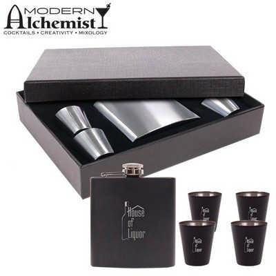 Craignure Flask Gift Set  (S202 _PB)