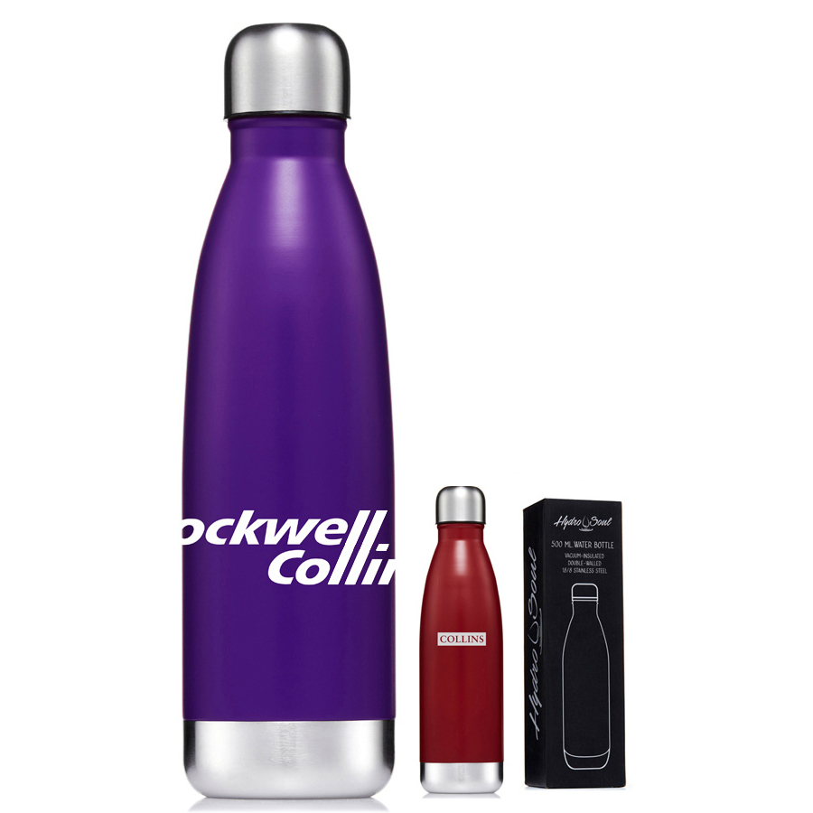 Hydro Soul Insulated S/S Bottle  (S819_PB)