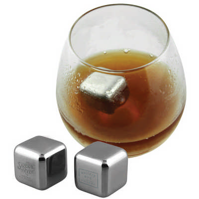 Stainless Steel Ice Cube  (S907_PB)