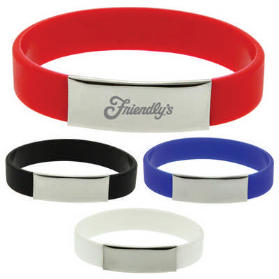 The Glarus Silicone Wrist Band  (T578 _PB)