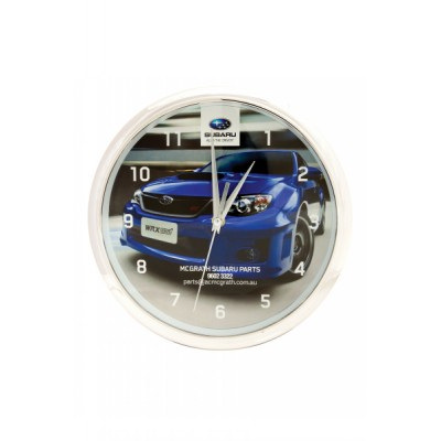 CLKB02 Wall Clock With Shiny Ring Finish And Full Colour Print - (printed with 1 colour(s)) CLKB02_OC