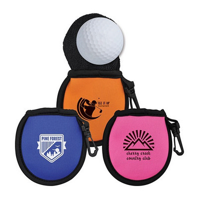 OCC37 Golf Ball Cleaning Pouch - (printed with 1 colour(s)) OCC37_OC