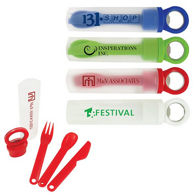 OCC41 Grab Lunch Utensil Set - (printed with 1 colour(s)) OCC41_OC