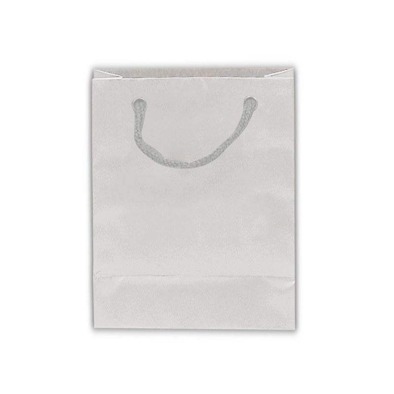 PAPB01MLS Matt Laminated Bag Small With Rope Handle - (printed with 1 colour(s)) PAPB01MLS_OC
