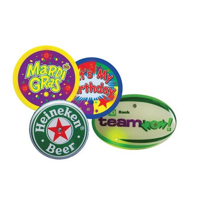ASSN03 Flashing Pins And Badges - (printed with 1 colour(s)) ASSN03_OC