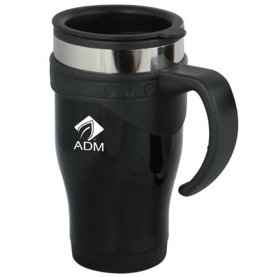 The Steam 473Ml Travel Mugs - (printed with 1 colour(s)) TRAD26_OC