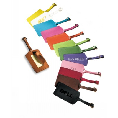 Australian Luggage Tags pu Leather Luggage Tag