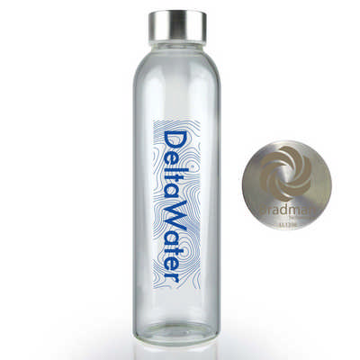 Capri Glass Bottle  - (printed with 1 colour(s)) LL1394_LLNZ