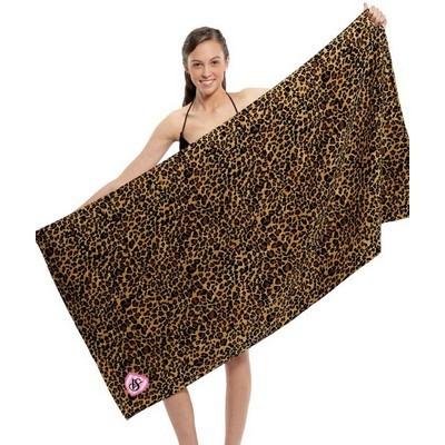 Zebra Print Beach Towel (BTL-13_QZ)