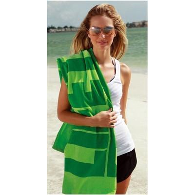 Midweight Coloured Beach Towel (BTL-19_QZ)