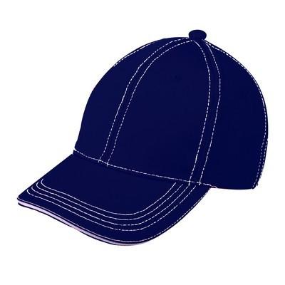 Contrast Stitch Cap (CP-08_QZ)