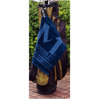 Soft Touch Golf Towel - (printed with 4 colour(s)) GT-11_QZ