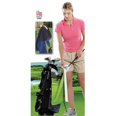 Microfibre Scrubber Golf Towel - (printed with 4 colour(s)) GT-P02_QZ