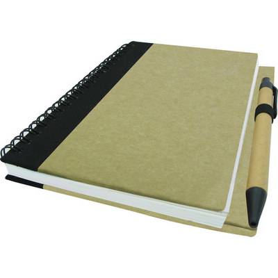 B6 Eco Notebook With Pen (NB-E06_QZ)