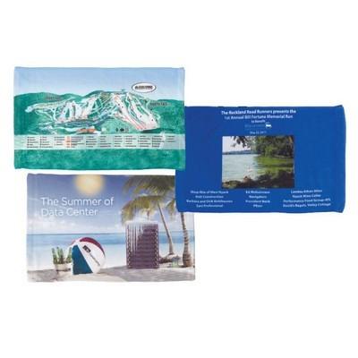 Microfibre Velour Sports Towel (SPT-07_QZ)