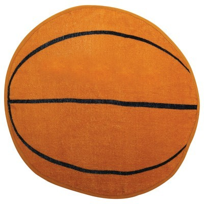 Basketball Shaped Sports Towel (SPT-15_QZ)