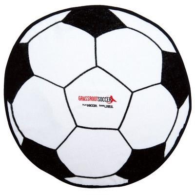 Soccer Ball Shaped Sports Towel (SPT-17_QZ)