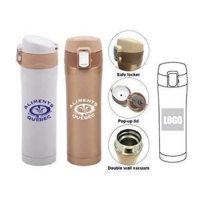 Flip Top Vacuum Flask (TB-M46_QZ)