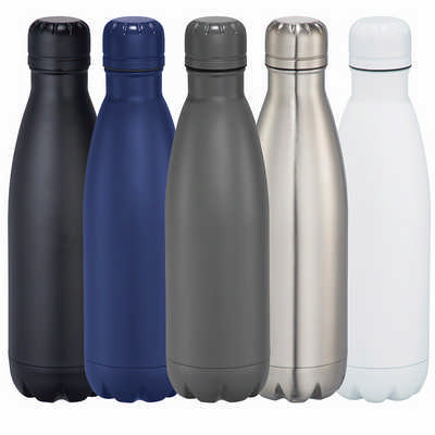 Copper Vacuum Insulated Bottle - (printed with 1 colour(s)) 4070BL_RNG_DEC