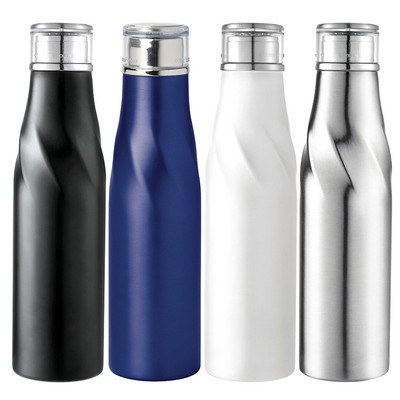 Hugo Auto-Seal Copper Vacuum Insulated Bottle 22oz - (printed with 1 colour(s)) 4074_RNG_DEC