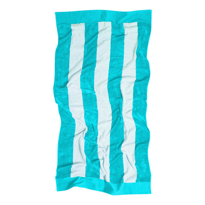 Beach Towel - Cyan - (printed with 1 colour(s)) 4245PBL_RNG_DEC